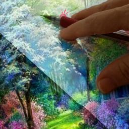 edited artistic fantasy surreal colorful