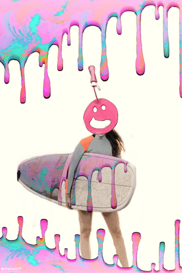 #freetoedit #dailyremix #surf #paintyourworld #smile #pasteleffect #myedit  Thank you for the fte and the stickers everyone 💌