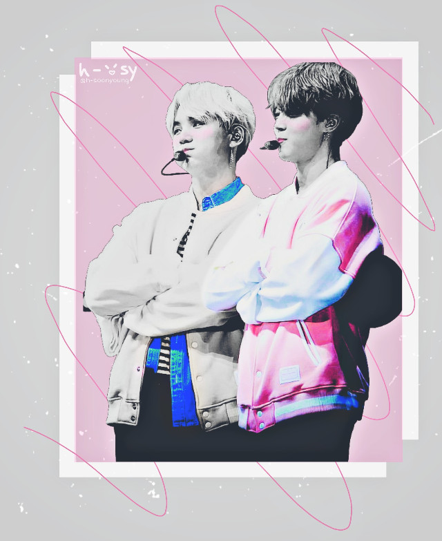Hey @iampurekpoptrash #yoonmin for you ✨ I hope you like it cutie! 😄💕 Cr. photo: Merry white  #parkjimin #minyoongi #bangtanboys #suga #mochi #bangtansonyeondan #kpopedit #pink #gray #박지민 #민윤기 #방탄소년단