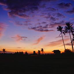 sunset sunrise sun pretty beautiful