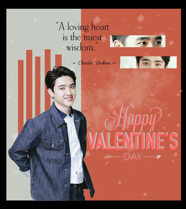 #freetoedit #valentinesday #happyvalentinesday #exo #kyungsoo