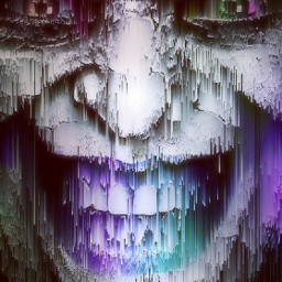 joker distorted evileyes freetoedit