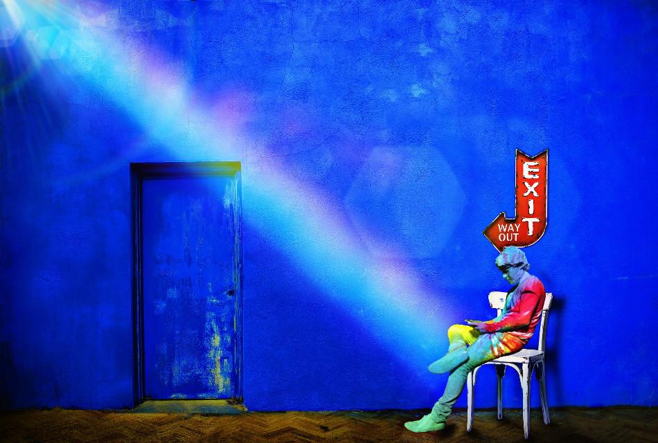 🌈 #freetoedit #tiedyeexit #vipbrushtool #rainbowflare #bluetones #lensflare #pa