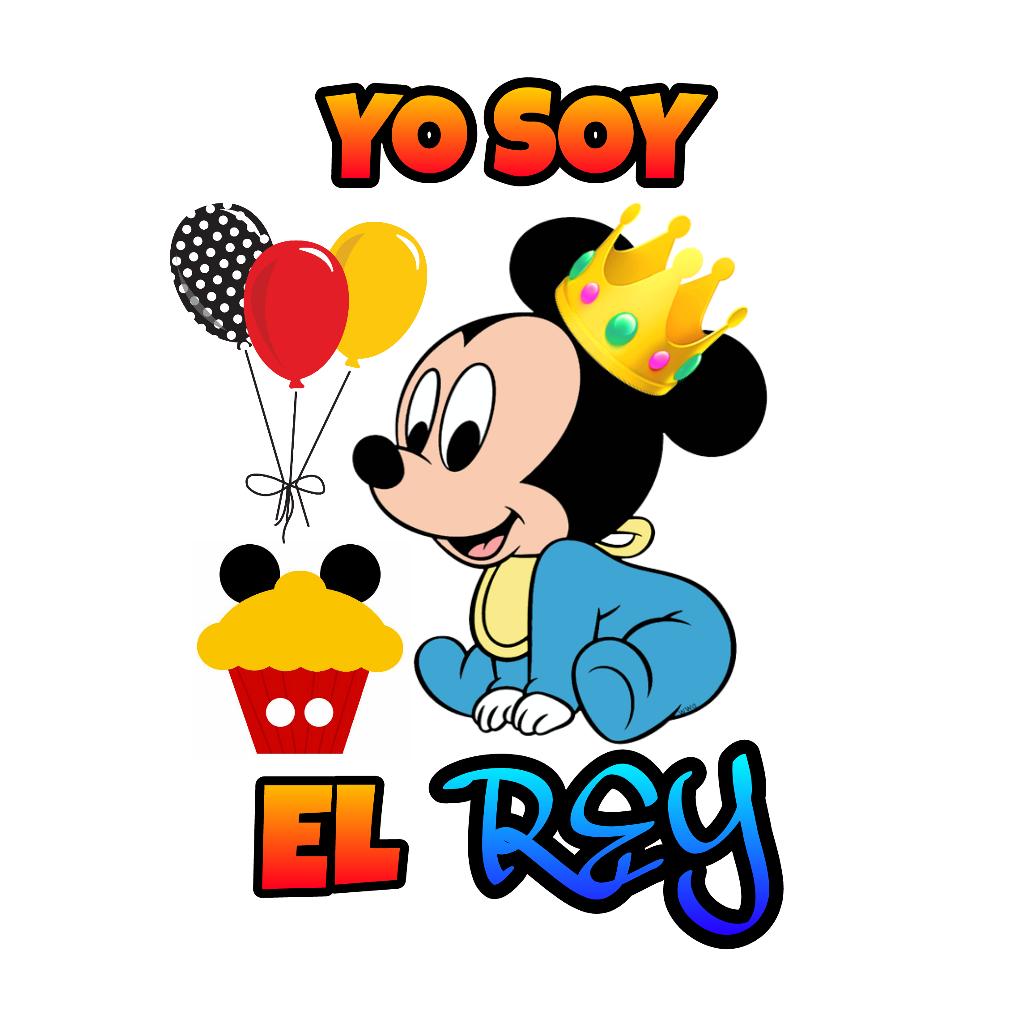 Mickey mouse rey - Image by Estefanny Vinasco