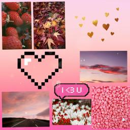 freetoedit collage ♡ followforfollow pink