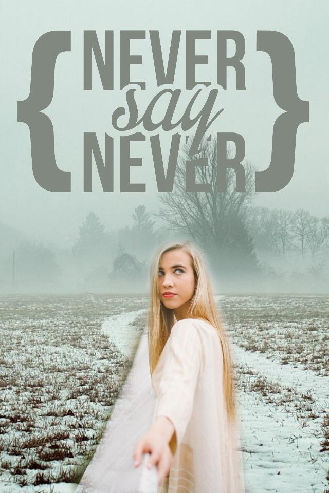 #freetoedit #girl#text#neversaynever