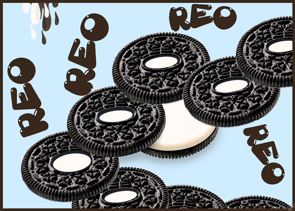 #remix #oreo #cookies #picsarteffects #chocolatecake #cream #lightblue #myart #text
