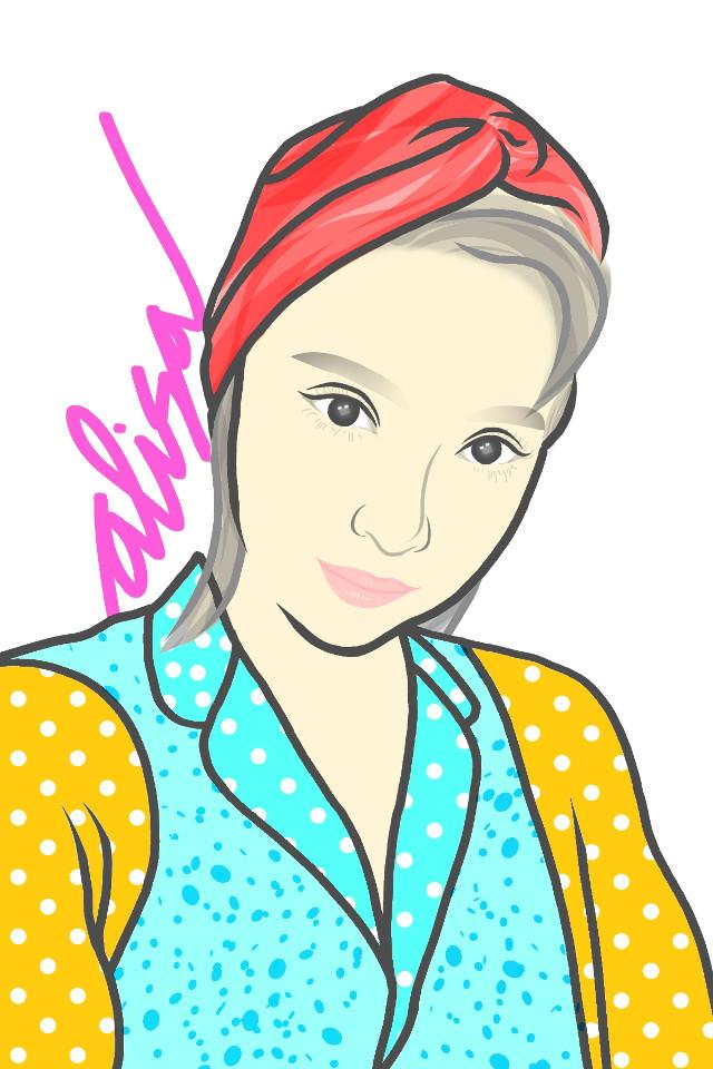 Hello there gorgeous @alisaueno_pa  I'm using #ColorByPicsArt app to drawing on my fav foto of her manually just with my fingers ♥️ #alisaueno #alisauenoremix #alisauenoxchallenge #picsart #drawonphoto #picsartgirl #picsartchallange #illustration #portrait #girl #madewithpicsart #art #drawing #handmade #digitaldrawing #pang #gambardihape  #freetoedit