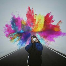 freetoedit color splash remixit remixedit