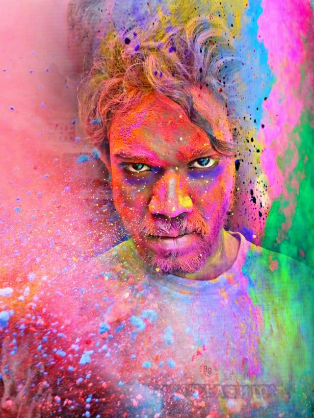 #Padmavat#Alauddin#colorful#Holi#colorffastival #freetoedit
