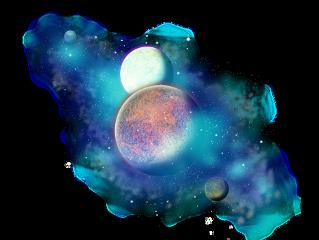 galaxy planet freetoedit