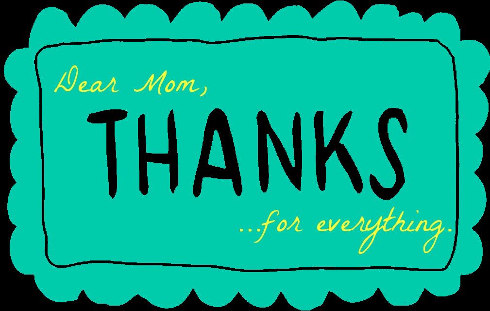 #ilovemom #thanks #mom