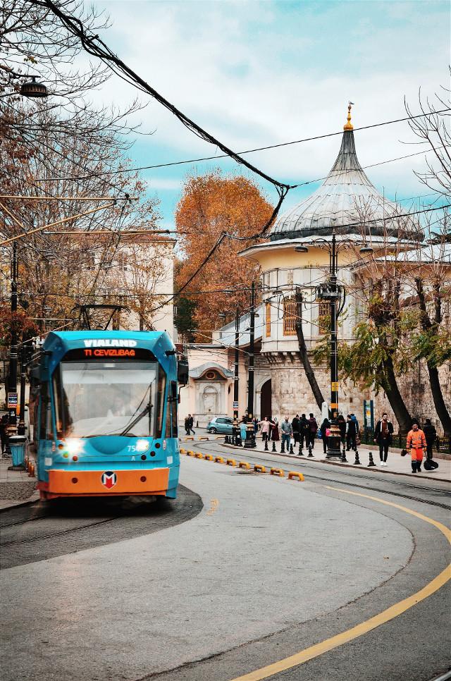 #istanbulcity  #istanbul #vsco #sirkeci #tramway