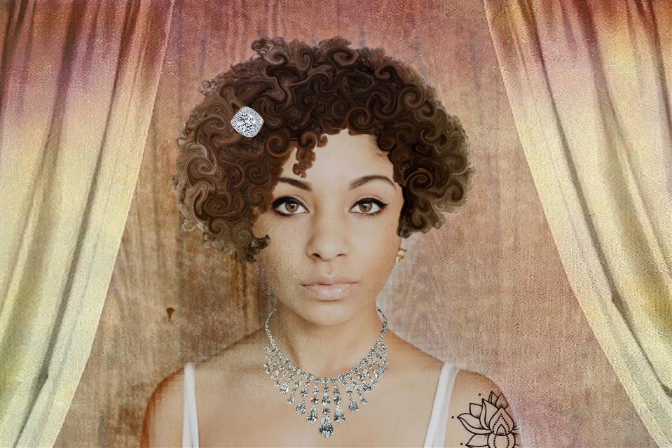 #woman #remixit #remixoftheday #curls #blackgirlmagic #beauty