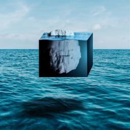 freetoedit cubic sea surfing underwater