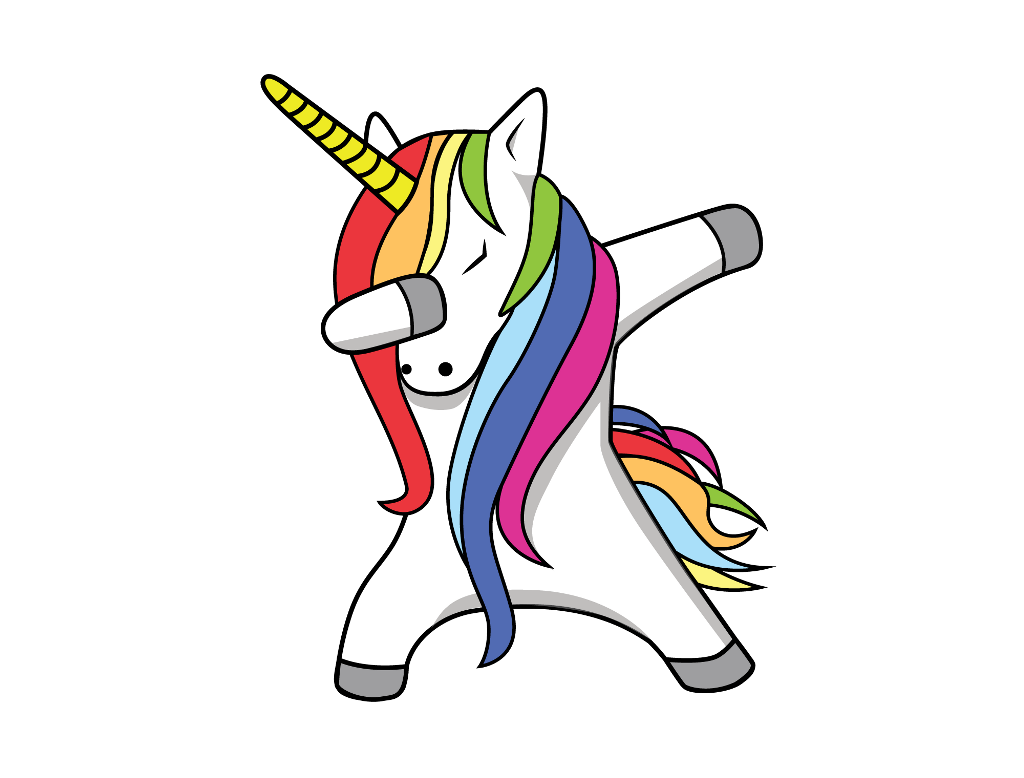 Dabbing Unicorns Pictures Stickers