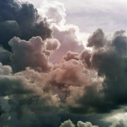 clouds background sky sunnyeffect freetoedit