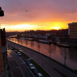 freetoedit sunsets belgium brugge 2018