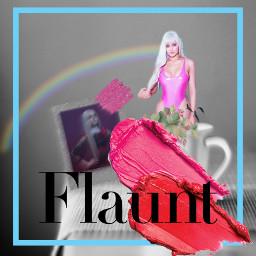 fab fabulous hi pink cool freetoedit ecflauntwithbrushes