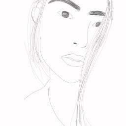 freetoedit girl interesting art sketch