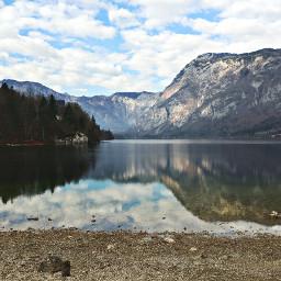 photography travel mountain lake reflection freetoedit