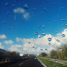 art images sky blue blur freetoedit