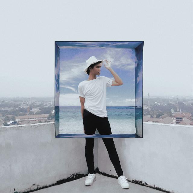 Sea box 💙⛱ • #freetoedit  #springtime #sea #view #spring #white #lfl #box #line #ocean #seaview #beach #picsart #drawingtool #blue #bluefeed #bluefeeds
