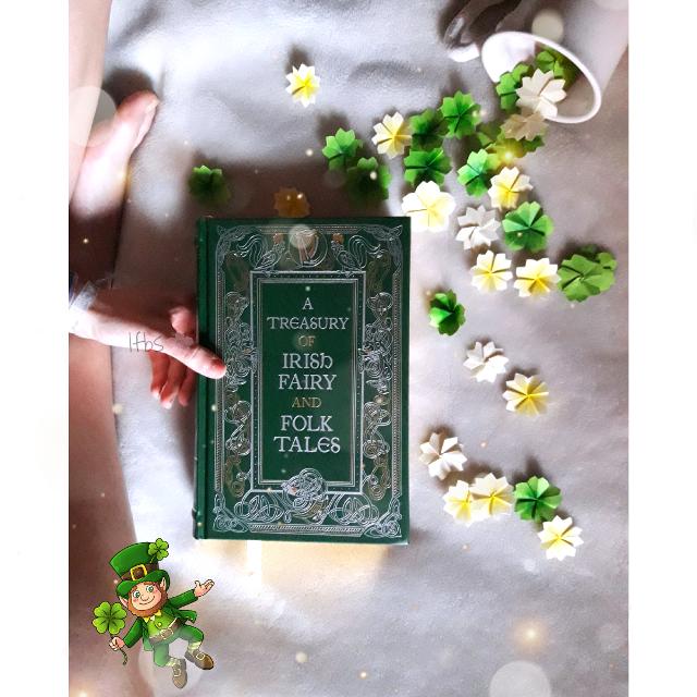 #littleflowersbooks #lfbs #fairytales #irish #ireland #fourleafclover #book #books #bookstagram #instabook