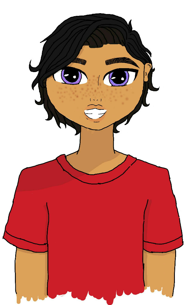 #freetoedit  #oc #originalcharacter #yjfanfic #elliot This is my little baby Elliot, He's eight and I love him lol. Very snarky little dude