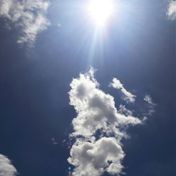 freetoedit nuvens clouds sol sun
