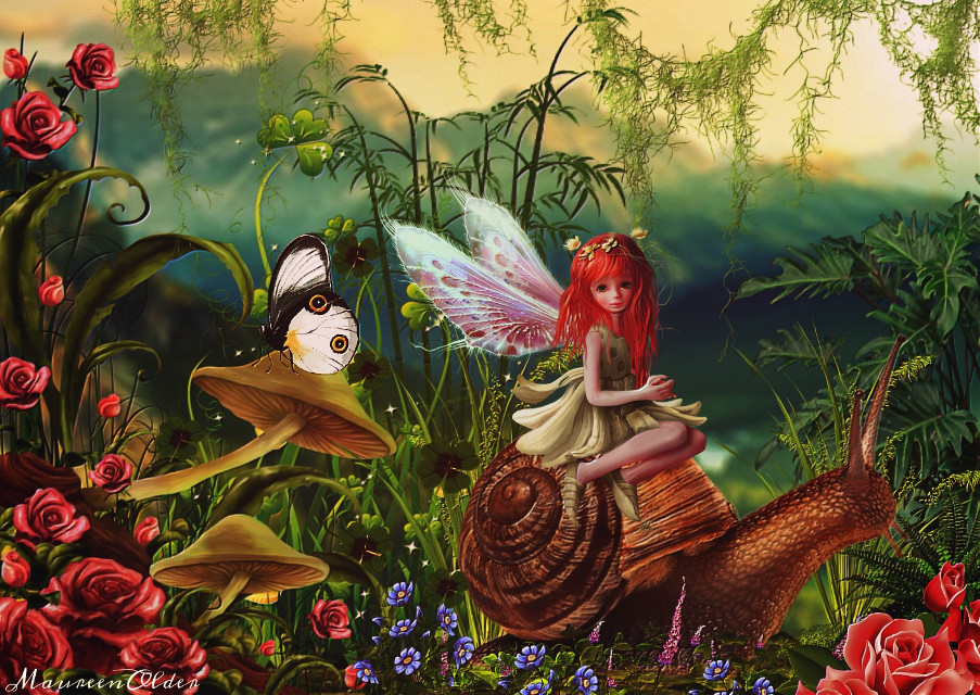 Little Traveller   #freetoedit  #ircslimysnail #slimysnail  #fantasy #fae #faery #fairy #snail #nature #wildlife #emboss #inspire #inspiration #inspired #myedit #dailyremix #remixed #remixgallery #emboss