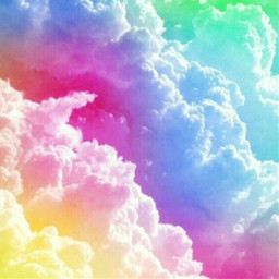 freetoedit background pastels clouds colorful
