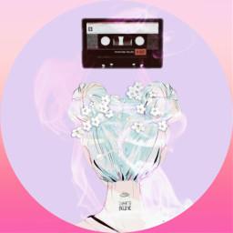 freetoedit vintage retro pink girl
