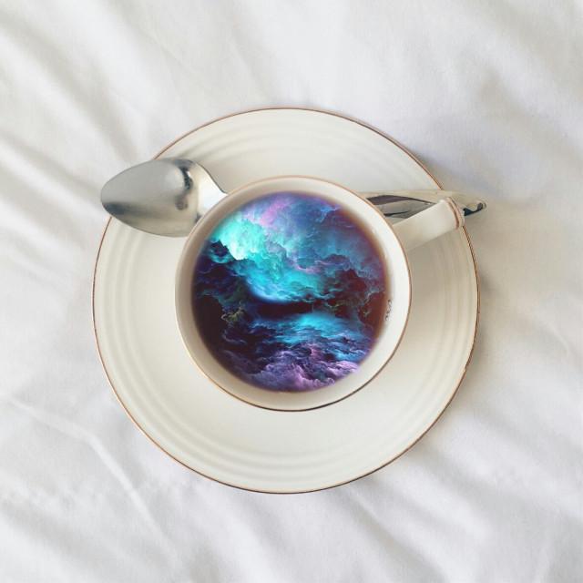 #nebula #stars #starburst #coffee #coffeecup