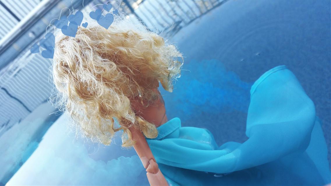 #freetoedit #barbiedoll #barbiephotography #blue #water #oceangirl