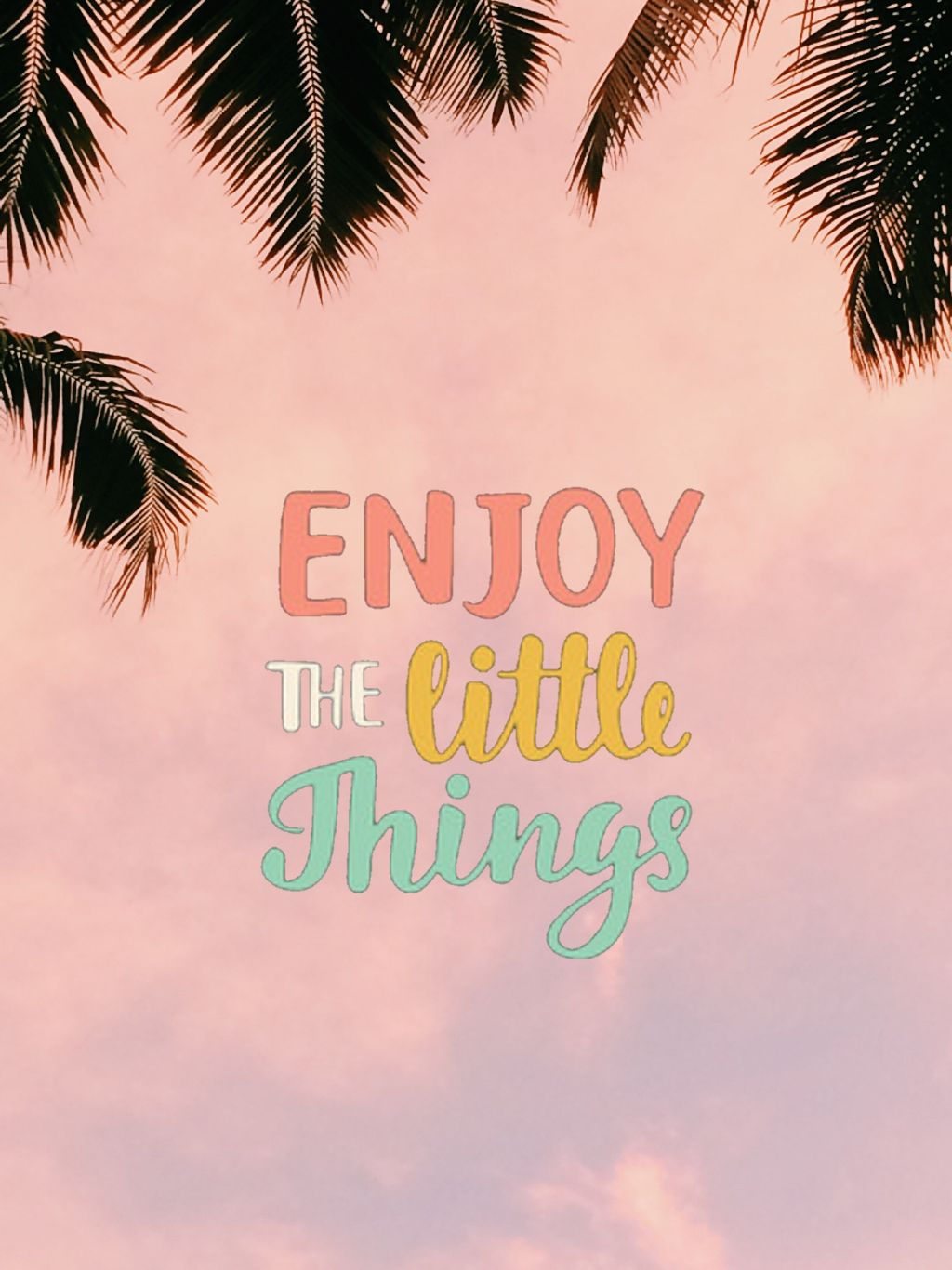 Enjoy the little things #freetoedit #madewithpicsart #quotes