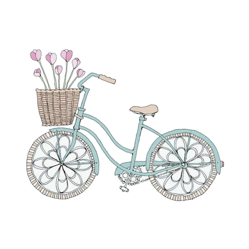 bike pastelcolors cute tumblr sticker by tumblrgrll
