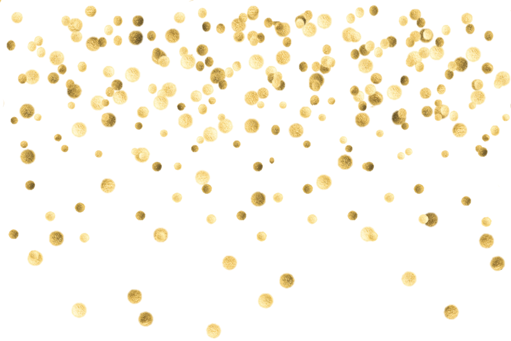 ftestickers overlay dots gold confetti