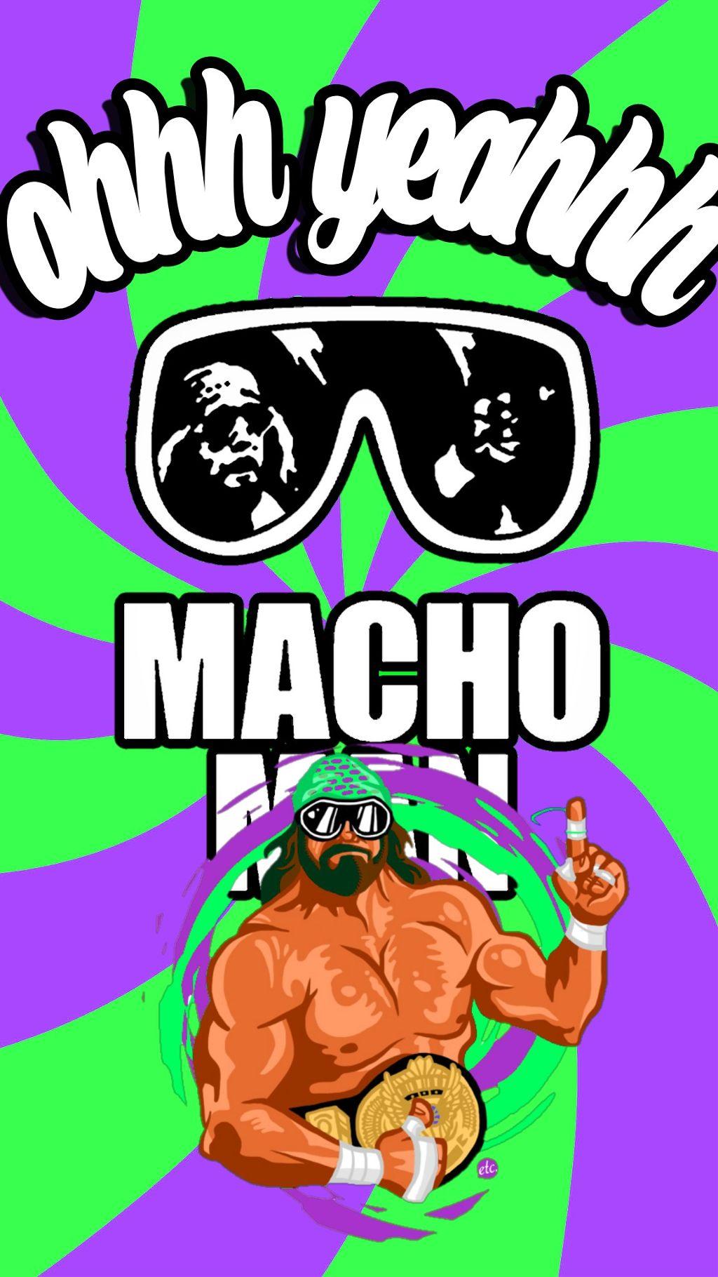 Macho Man Wallpaper For Your Phone Machomanrandysava