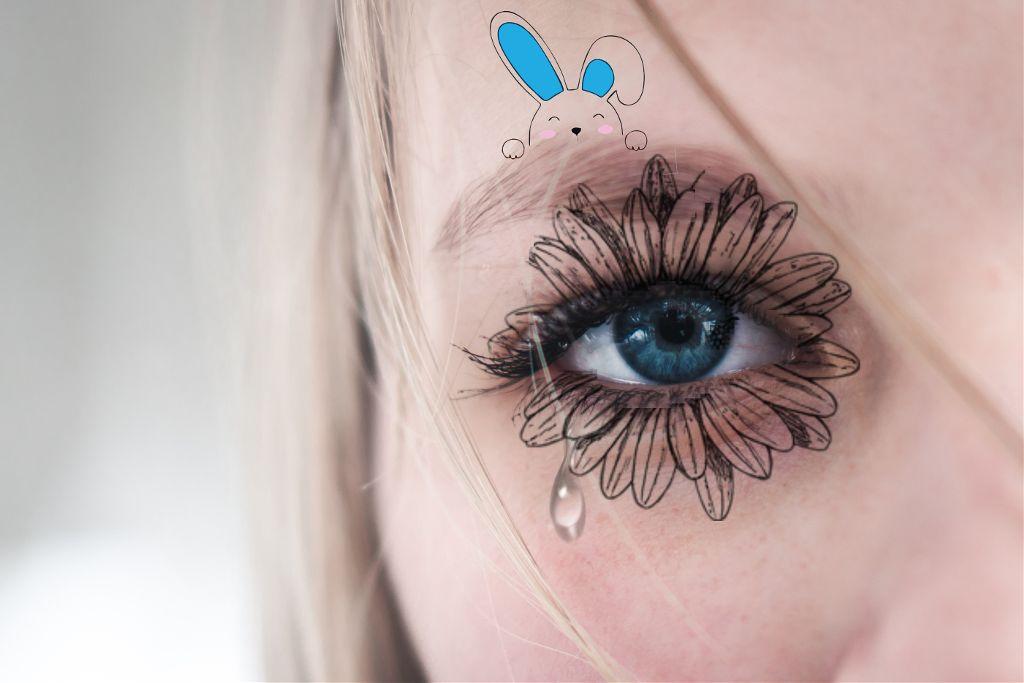Freetoedit Blue Eyes Flower Image By Gizemlikiz126