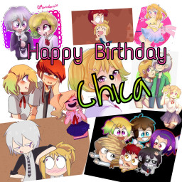chica chicafnafhs fnafhs foxica puppica freetoedit