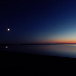 nature landscape sunset night travel