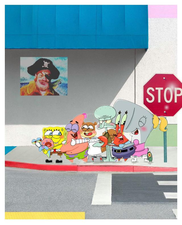 Fun edit!!  #spongebob #freetoedit