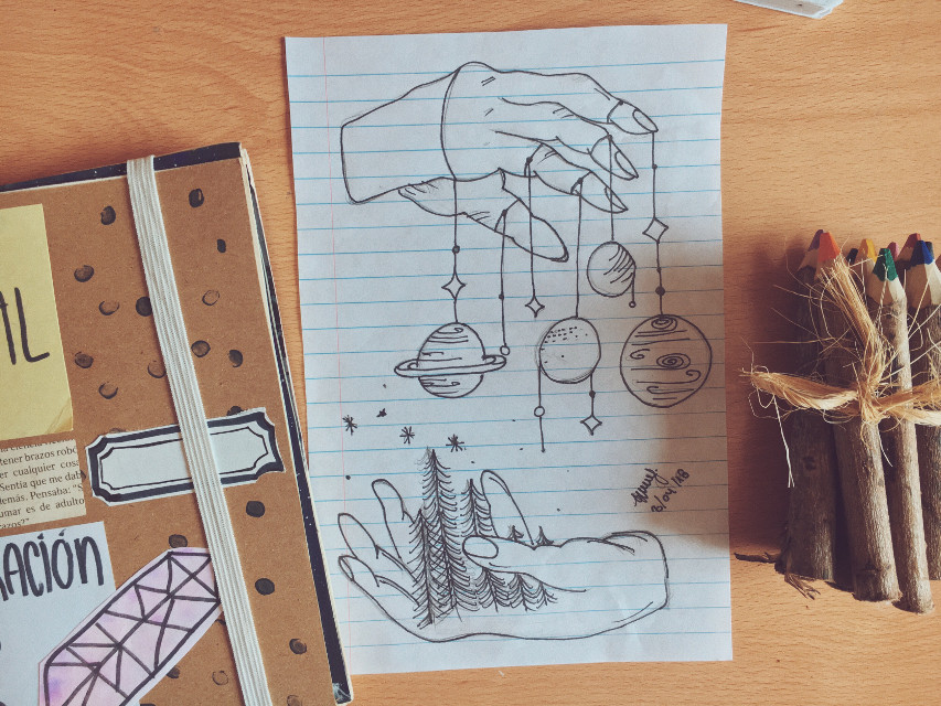 Fantasy draw🍃🌾 .  #art #artjournal #artjournalpage #artjournalism #artjournaling #artjournalpages #artist #artistsofinstagram #artistsoninstagram #journal #journaling #creative #scrapbooking #vsco #journalpage #journalpages #sketchbook #sketch #sketching #diary #visualjournal #scrapbook #visuals #illustration  #kennethrocafort #drawing #draweveryday #illustrator #fantasy #freetoedit