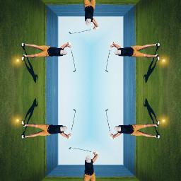 ircgolfersday golfersday madewithpicsart mirrored drawtools