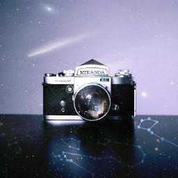 freetoedit galaxy stars constellations camera