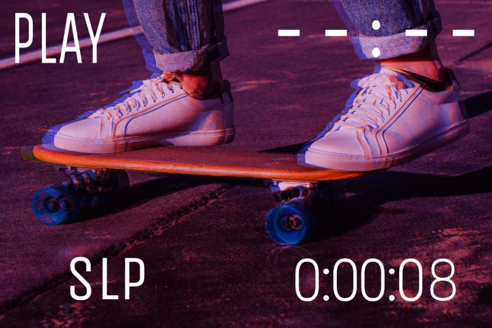 #vhs #vhseffect #vhscamera #skateboard #skate #skater #skateboarding #skategirl #editedwithpicsart #editedbyme