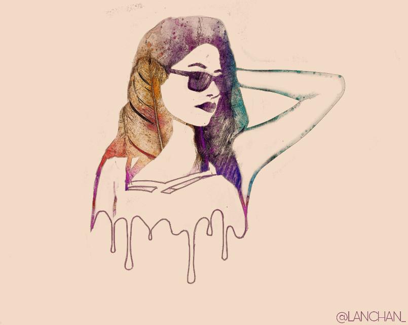 #freetoedit #girl #remixit  #doubleexposure #picsart @freetoedit @picsart