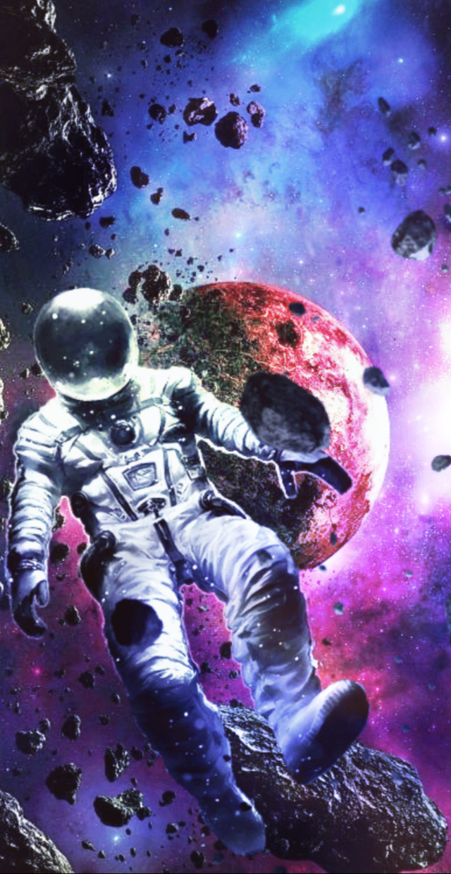 #myedit#space#lost#surreal#colors#planet