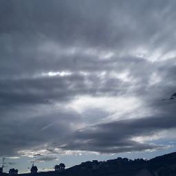 sky clouds cloudy
